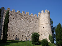 The castle of Moniga